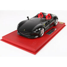 BBR 1:18 Scale FERRARI MONZA SP2 Black Car Model Limited Collection with case