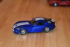 Maisto 1:18 Dodge Viper GTS - Blue/White stripes