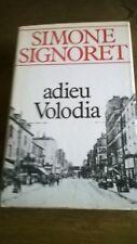 Adieu Volodia - Simone SIGNORET - Éditions France Loisirs DL 1985