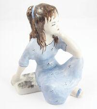 GIRL Ukrainian Porcelain Figurine