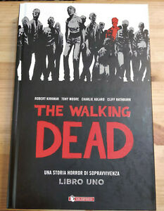 THE WALKING DEAD LIBRO 1 di KIRKMAN, MOORE, ADLARD, RATHBURN, ed SALDAPRESS
