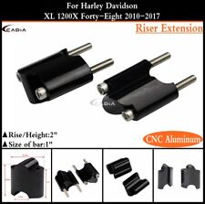 1 inch Handle Bar Riser Extension Kit For Harley XL 1200X Forty-Eight 2010-2017