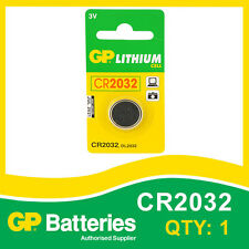 GP Batteria al Litio Bottone cr2032 (dl2032) Scheda di 1 [Watch & CALCOLATRICE + altri]