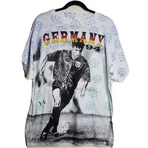 Vintage Original 1994 FIFA World Cup Germany Soccer T-Shirt Size XLarge