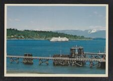 CANADA 1980s FOUR BC FERRIES SHIP POSTCARDS TSAWWASSEN VANCOUVER & NANAIMO