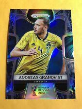2018 World Cup Prizm Soccer ANDREAS GRANQVIST 11/20 Camo Refractor Sweden