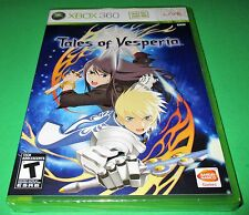 Tales Of Vesperia Xbox 360 -  Factory Sealed!! Free Shipping!!