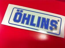 1 Adesivo OHLINS ammortizzatori pistoncino Blu