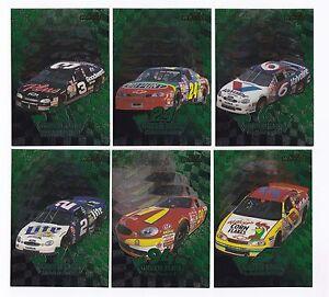 1998 Wheels GREEN FLAGS  #GF6 Jeff Gordon BV$12!! SWEET CARD! ONE CARD ONLY!