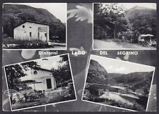 COMO CANZO 27 LAGO del SEGRINO - VEDUTINE Cartolina viaggiata 1957