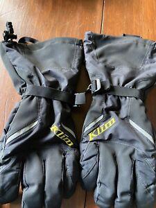 Klim Klimate Black Men's Snowmobile Glove Size L