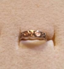 Beautiful Gold Child's Ring Size 1