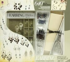Jewelry Basics Class In A Box Kit, Silver Tone Earrings , New, Free Shipping