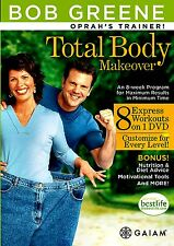 NEW DVD (WITHOUT SHRINKWRAP) / BOB GREENE - TOTAL BODY MAKEOVER - OPRAH TRAINER