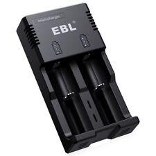 Ebl Battery Charger for 18650 18500 14500 Li-ion Aa/Aaa & C Size Ni-Mh Ni-Cd Rec