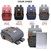 Gift Student 15.6'' Multiple Compartments With USB School Bag Laptop Backpack