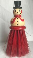 Vintage Snowman Clothes Brush