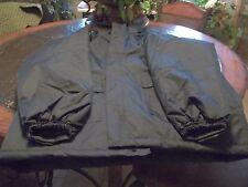 Condor Rain Jacket, Navy, Polyurethane, Hood, Unisex 3XL 2PY68 MSRP $127.30