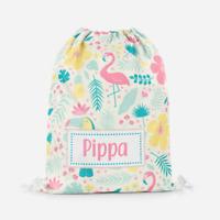 Personalised Magical Fairy Drawstring Bag Girls Magical Bag Kids PE Bag Rainbow Swimming School Bag Sports Bag Lunch Dance Bag #45