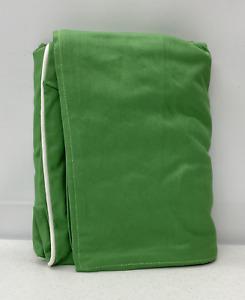 Pottery Barn KIDS Anywhere Chair Slipcover~REGULAR~Green w/White Piping~NO MONO