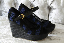LOUIS VUITTON SEA BREEZE WEDGE SANDALS SHOES EU 37, UK 4, RETAIL £580