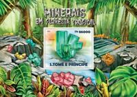 St. Thomas - 2015 Minerals on Stamps - Stamp Souvenir Sheet - ST15203b