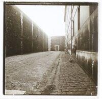 Architettura Prison c1930 Foto Placca Da Lente Stereo Vintage VR16L26n2
