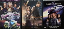 Lost In Space, Galaxy Quest & Jupiter Ascending dvds used