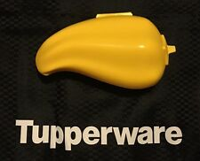 Tupperware Chilli / Capsicum Keeper Red Forget Me Not - Brand New - Yellow