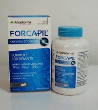 Forcapil Active Slows down hair loss stimulates growth regenerates nail 180 caps