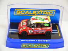 14 )  Scalextric C3103 Slotcar Car Mini Cooper S Martin Depper No. 30