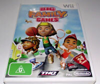 Big Family Games Nintendo Wii PAL *Complete* Wii U Compatible