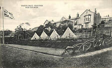 Colwyn Bay. Voryn Hall Grounds, Old Colwyn. Tents.