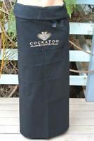 NEW GENUINE Cellerman BAR Apron. COCKATOO RIDGE WINE Hospitality One Size Black