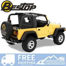 Bestop WrapAround WindJammer - Black Diamond 03-06 Jeep Wrangler TJ LJ 80035-35