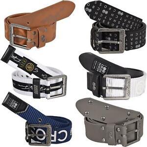 Mens Crosshatch PU Leather Belt Designer Embossed Metal Buckle Size M-2XL
