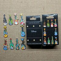Disney Guitars Mystery Box Complete 10 Pin Set 2019 Limited Release LR