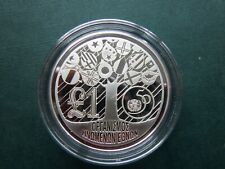 Cyprus 1 Pound 1995 silver proof  km  69a   28.2000 g  50th ann