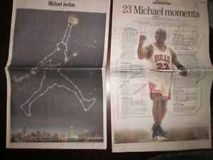 1999 Chicago Tribune Michael Jordan Retires - 40 Page Commemorative Section