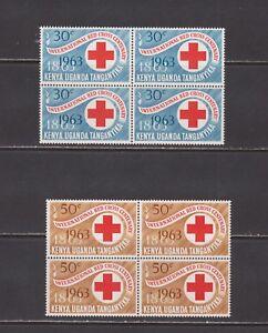 Kenya-  Lot 4466,  Mint, NH. Sc# 142-3. Blocks.