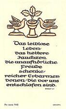 "Fleißbildchen Heiligenbild Gebetbild Andachtsbild Holy card Ars sacra"" H511"""