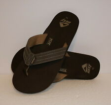 REEF QUENCHA TQT (BROWN) FLIP FLOP SANDALS (MENS Size 8-13) MSRP $37- BRAND NEW!