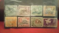 8X 1937 - 1974 CYPRUS STAMPS