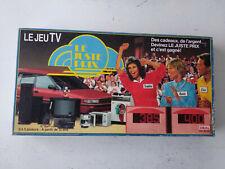 Le juste prix (jeu tv télévisé) IDEAL 1990 FR