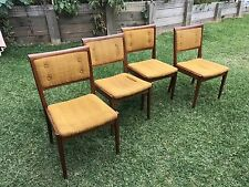 Parker Dining Chairs Vintage Mid Century X 4 Retro