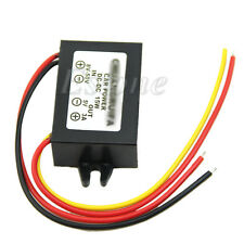 DC Waterproof 12/24V to 5V 3A 15W Buck Step-Down Converter Module Car Power Hot