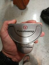"""New listing TURNBURRY Men's RH 34.5"""" Heel Shafted """"3 BALL"""" Double Bend Shaft Mallet Putter"""