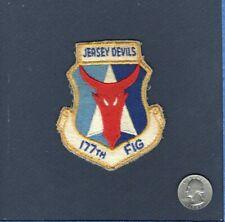 Original 177th FIG F-106 Delta Dart NJ ANG USAF Fighter Squadron Patch