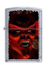 Zippo 5027 monster devil street DISCONTINUED - Rare Lighter
