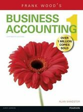 Frank Wood's Business Accounting 1 (13th Edition) by Alan Sangster 9781292084664